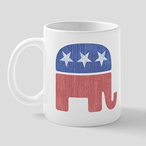 Old Republican Elephant Mug
