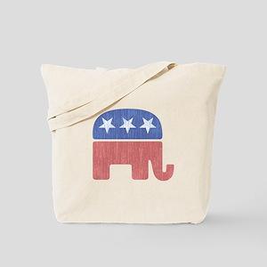 Old Republican Elephant Tote Bag