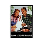 Bacon Saved Our Marriage Rectangle Magnet