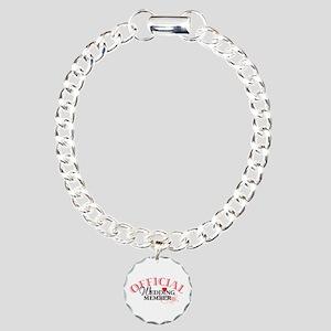 Wedding Party Charm Bracelet, One Charm