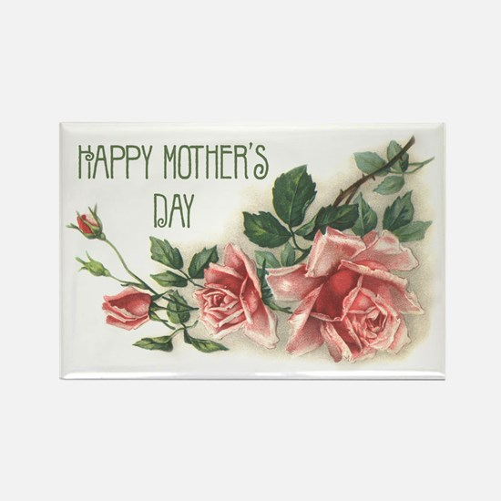 Mother's Day Roses Rectangle Magnet