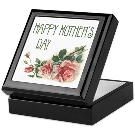 Mother's Day Roses Keepsake Box