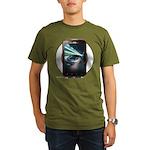 Mobile Phone Organic Men's T-Shirt (dark)