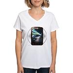 Mobile Phone Women's V-Neck T-Shirt