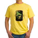 Mobile Phone Yellow T-Shirt