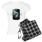 Mobile Phone Women's Light Pajamas