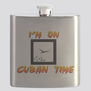 Cuban Time Flask