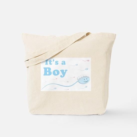 Its a Boy Tote Bag