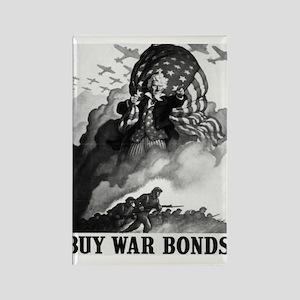 Buy War Bonds Art Rectangle Magnet