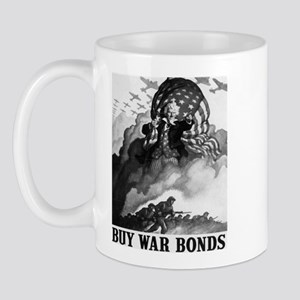Buy War Bonds Art Mug