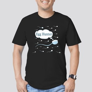 Egg Hunter sperm Men's Fitted T-Shirt (dark)