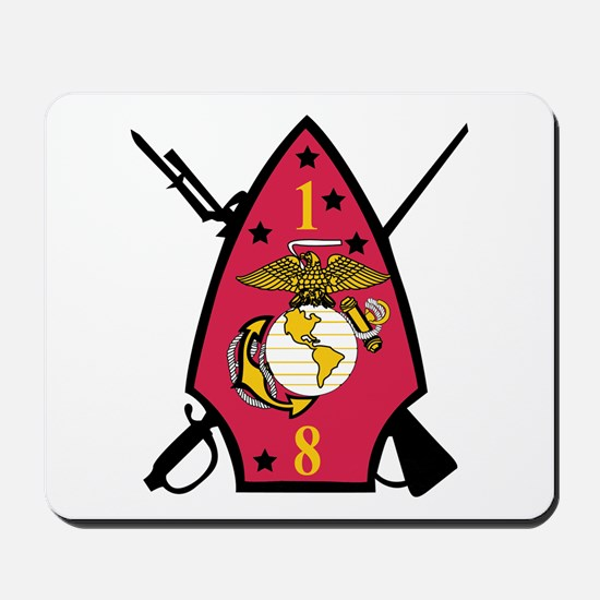 1st Battalion - 8th Marines Mousepad