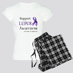 Support Lupus Awareness Women's Light Pajamas