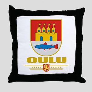 Oulu Throw Pillow