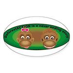 Sticker (Oval )