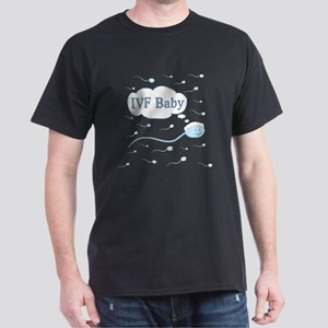 IVF Frozen Sperm Dark T-Shirt