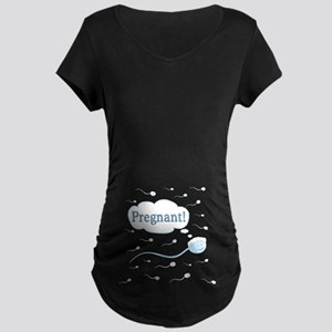 Pregnant! Maternity Dark T-Shirt