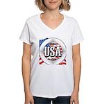 USA Original Women's V-Neck T-Shirt
