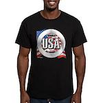 USA Original Men's Fitted T-Shirt (dark)