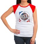 USA Original Women's Cap Sleeve T-Shirt