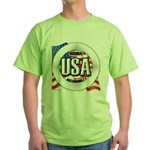 USA Original Green T-Shirt
