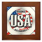 USA Original Framed Tile