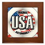 USA Original Framed Tile