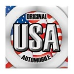 USA Original Tile Coaster