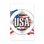 USA Original Mini Poster Print