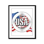 USA Original Framed Panel Print