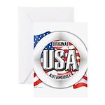 USA Original Greeting Cards (Pk of 10)