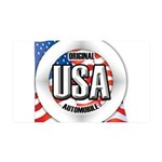 USA Original 38.5 x 24.5 Wall Peel