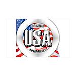 USA Original 38.5 x 24.5 Wall Peel