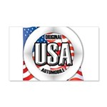 USA Original 22x14 Wall Peel
