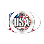 USA Original 38.5 x 24.5 Oval Wall Peel