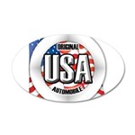 USA Original 38.5 x 24.5 Oval Wall Peel