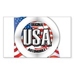 USA Original Sticker (Rectangle 50 pk)