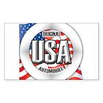 USA Original Sticker (Rectangle 10 pk)