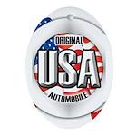 USA Original Ornament (Oval)