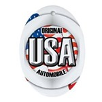 USA Original Ornament (Oval)