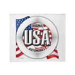 USA Original Throw Blanket