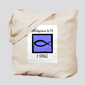 The Christian Singer Tote Bag