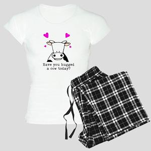 Hug a cow Women's Light Pajamas