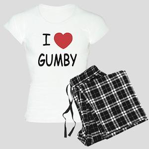 I heart gumby Women's Light Pajamas