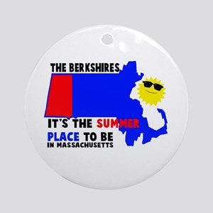 The Berkshires It's the summe Ornament (Round)