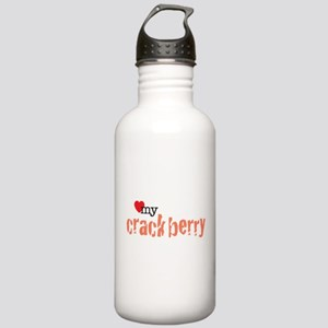 Love my Crackberry Stainless Water Bottle 1.0L