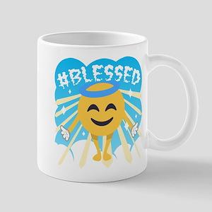 #Blessed 11 oz Ceramic Mug