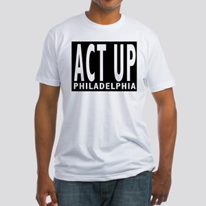 ACT UP Philly Fitted T-Shirt