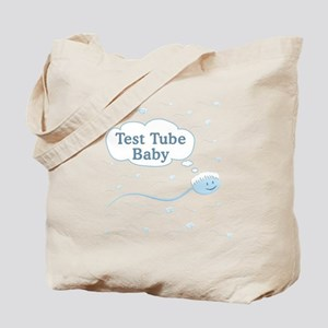Test Tube Baby Sperm Tote Bag