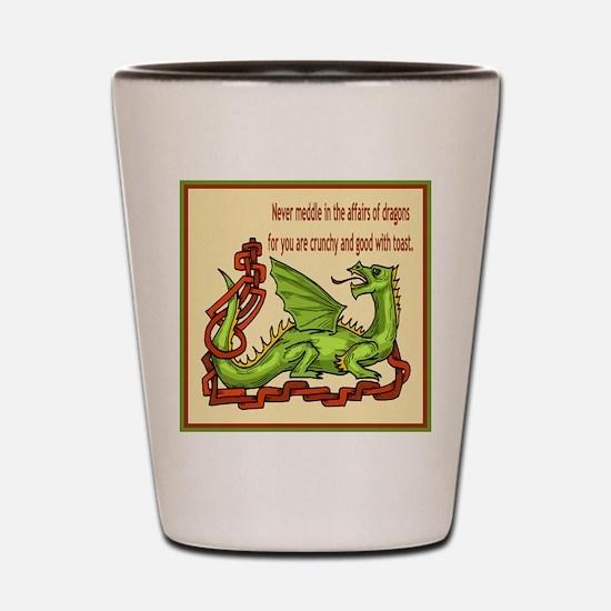 Dragons Shot Glass